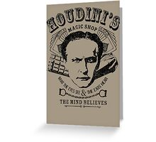 Houdini's Magic Shop Greeting Card