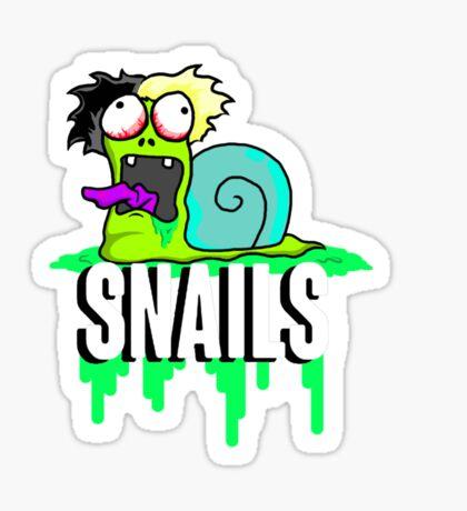 Snails Custom Cartoon Sticker