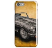 Classic Jaguar E-Type iPhone Case/Skin