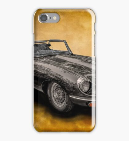 Classic Jaguar E-Type iPhone Case/Skin