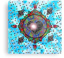 Love Seed NO.104, ''Life's Compass''  Metal Print