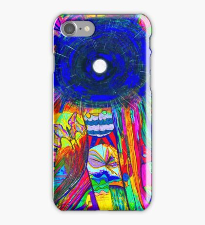 The moon shines always and everywhere iPhone Case/Skin