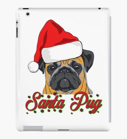 Santa Pug Christmas Design  iPad Case/Skin