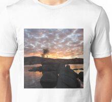 Sunrise on Watson Lake Unisex T-Shirt