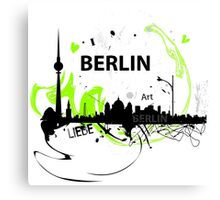 Berlin skyline abstract Canvas Print