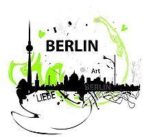 Berlin skyline abstract Photographic Print