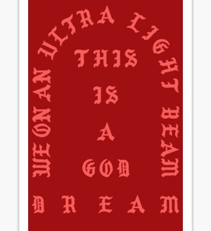 Kanye West Pablo  Sticker