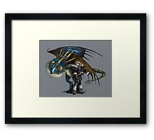 Astrid and Stormfly Framed Print