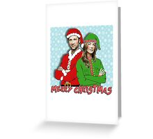 Grey's Anatomy - Merder christmas Greeting Card