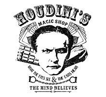 Houdini's Magic Shop by Gingerbredmanny