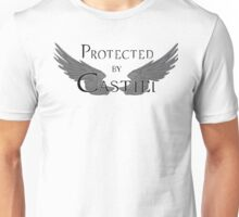 Protected by Castiel Black Wings Unisex T-Shirt