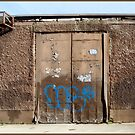 Warehouse and graffiti by dOlier