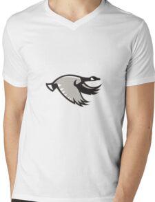 Canada Goose Flying Retro Mens V-Neck T-Shirt