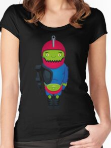 Cute Trapjaw Women's Fitted Scoop T-Shirt