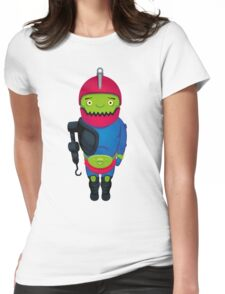 Cute Trapjaw Womens Fitted T-Shirt
