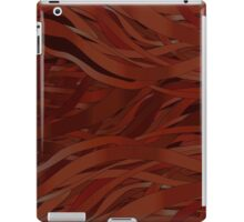 Ginger metal waves iPad Case/Skin