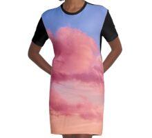 Fabulous clouds Graphic T-Shirt Dress