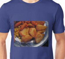 Roast Potatoes with Carrots and Sweet Corn Unisex T-Shirt