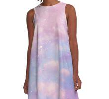 Pink sky  A-Line Dress