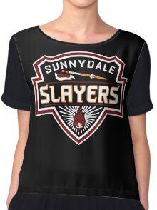 Sunnydale Slayers Chiffon Top
