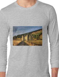 Clan Menzies Castle Long Sleeve T-Shirt