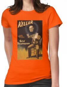 self decapitation magic Womens Fitted T-Shirt