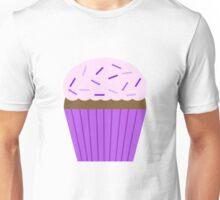 purple cupcake Unisex T-Shirt