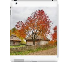 Old village iPad Case/Skin