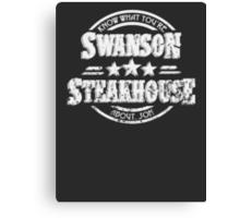 Swanson Steakhouse Canvas Print