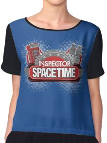 Inspector Spacetime Blorgon Edition Chiffon Top