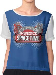 Inspector Spacetime Blorgon Edition Chiffon Top