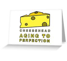 CHEESEHEAD Greeting Card