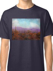 Golden Light and Purple Mountains Classic T-Shirt