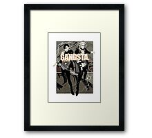 Gangsta! Framed Print
