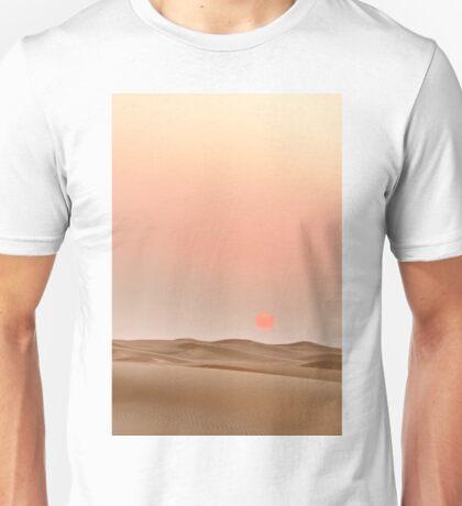 Sunset in the desert ... Unisex T-Shirt