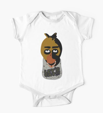 Five Nights At Freddy's Chica One Piece - Short Sleeve