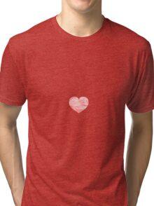 Paper Heart Tri-blend T-Shirt