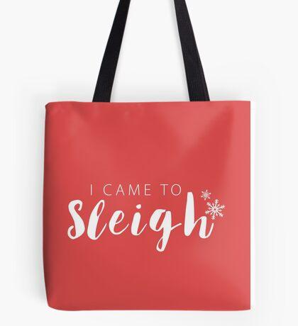 I Sleigh Apparel Tote Bag