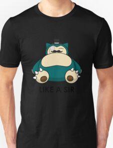 Like a Sir (Snorlax) T-Shirt