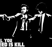 All You Need is Kill Cast Splash by SRP-Merchandise