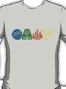 Water, Earth, Fire, Air T-Shirt