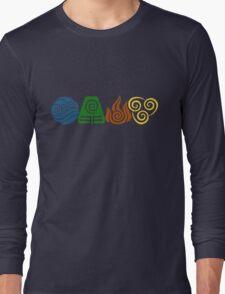 Water, Earth, Fire, Air Long Sleeve T-Shirt
