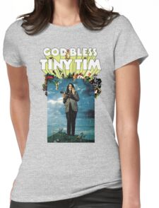 God Bless Tiny Tim Womens Fitted T-Shirt