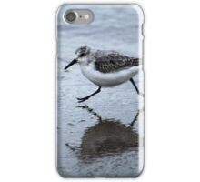 Sanderling Running On Beach iPhone Case/Skin