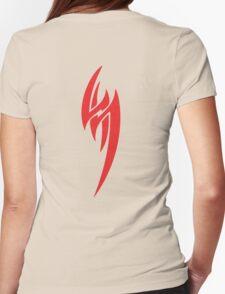 JIN KAZAMA Womens Fitted T-Shirt