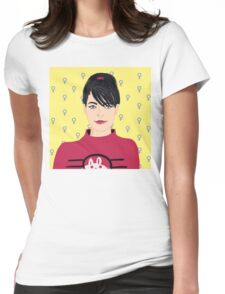Kathleen Hanna Womens Fitted T-Shirt