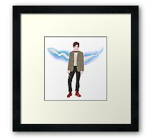 The 11th Doctor. Framed Print