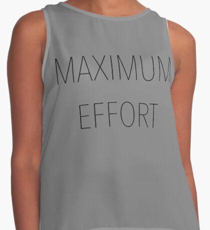Maximum Effort Contrast Tank