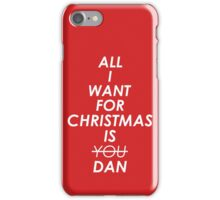 All I Want For Christmas iPhone Case/Skin