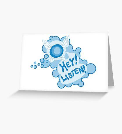 Navi Zelda Greeting Card